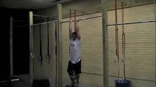 CrossFit Oldtown: Weighted Dead-Hang Pullup 100.5lbs