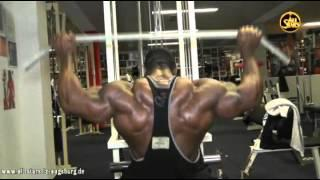 ALL STARS IFBB Pro Johnnie Jackson Backworkout one week before FIBO!!!