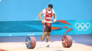 Daniyar Ismayilov ( Turkmenistan). London 2012 Olympics