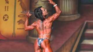 Nicole Ball - Competitor No 77 - Final - IFBB Pro Women's Physique - Dallas Europa 2013