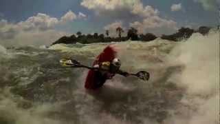 GoPro Kayaking: Big Wave Surfing - White Nile, Uganda - Africa