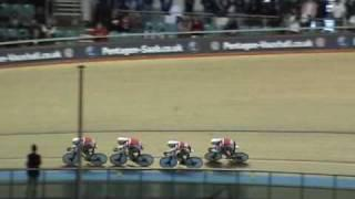 Worlds fastest team pursuit qualification