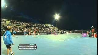 Garbine Muguruza vs Kirsten Flipkens, Hobart International 2014 - Full Match