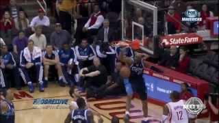 Vince Carter reverse jam vs Rockets (2013.12.23)