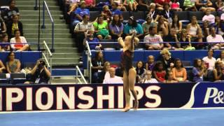 Bailie Key - Floor Exercise - 2013 P&G Championships - Jr. Women - Day 2