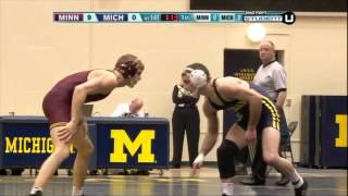 #1 Kellen Russell vs #2 Mike Thorn (141) - College Wrestling 2011