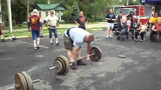 DOUG MADEWELL CAR DEADLIFT MEDLEY XENIA OHIO STRONGMAN CONTEST