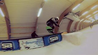 GoPro: Freestyle snowboard clip 2014, Ice mountain comines belgium