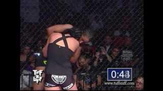 Tuff-N-Uff Ashlee Evans Smith vs Bridgette Batch WMMA Title Fight