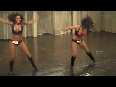 Atlanta Falcons Cheerleader - Cheerleader Final Audition Highlights