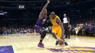 Kobe Bryant first dunk after Achilles injury (2013.12.10)