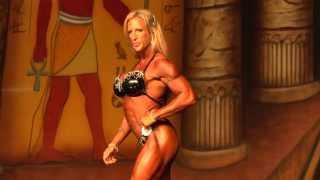Zoa Linsey - Competitor No 90 - Prejuding - IFBB Pro Women's Physique - Dallas Europa 2013