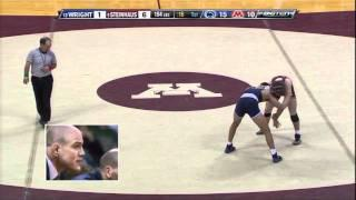 Quentin Wright (Penn State) vs. Kevin Steinhaus (Minnesota) - 2011 College Wrestling