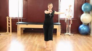 Upside-Down Pilates - Prenatal Pilates - Lesson 55 - Part 3 Of 4 - HD