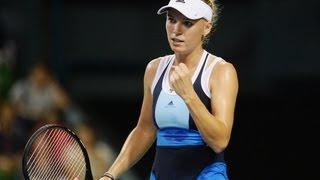2013 Toray PPO Quarterfinal WTA Highlights