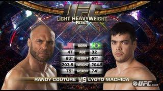 UFC 163 Free Fight: Machida vs Couture
