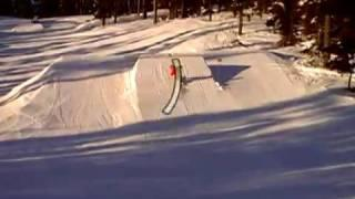 How to Backside 360 on a Snowboard - Backside 360 Trick Tip - Goofy