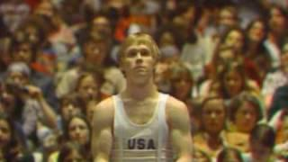 Bart Conner - High Bar - 1976 American Cup