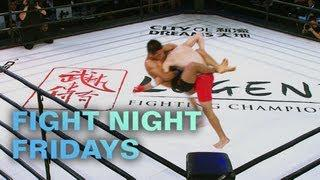 Ji Xian's Submission of the Night victory over Jack Gooderham