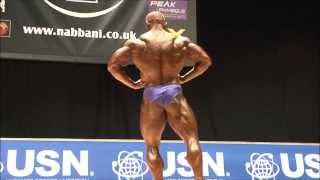 Alistair Smyth (NIR), NABBA Worlds 2014 - Men 2 Winner