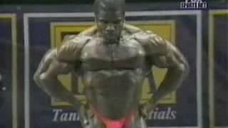 Robby Robinson, bodybuilder at the age of 54.