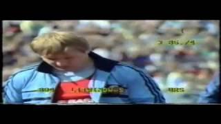 Hammer Throw World Record Yuri Sedych 1986 European Champs