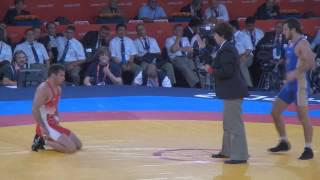 Denis Tsargush (RUS) vs Matthew Gentry (CAN) Bronze Finale 74kg