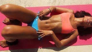 Girls Sexy Bikini Abs Workout for Six-Pack!