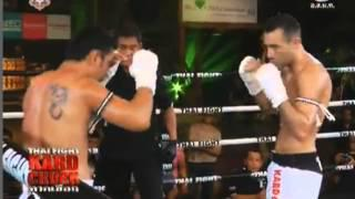 Saiyok Pumpanmuang vs Mickael Piscitelio Thai Fight Kard Chuek 19th October 2013