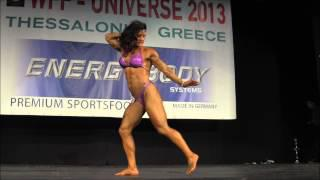 Sharon Campbell (AUS), WFF Universe 2013