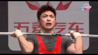 2011 Paris World Weightlifting Championships - 69kg men clean&jerk