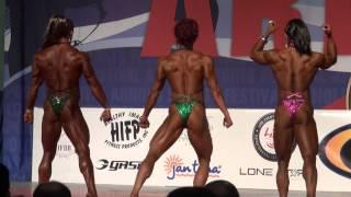 2013 Arnold Amateur Finals Comparisons Women's Bodybuilding Heavyweight