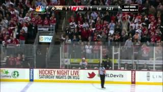 Patrik Elias Goal 5/3/12 Flyers @ Devils NHL Playoffs