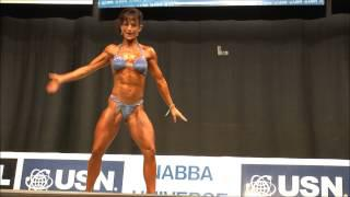 Gillian Bradley (UK), NABBA Universe 2013