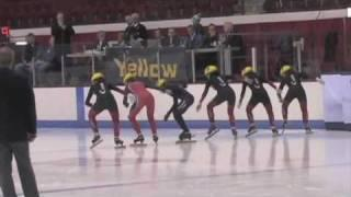 Canadian Olympic Short Track Speed Skating And Biofeedback
