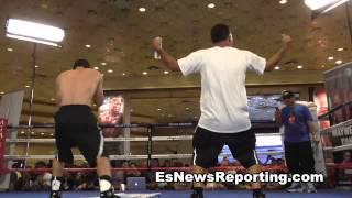 danny garcia loking sharp as he gets ready for lucas matthysse - EsNews Boxing