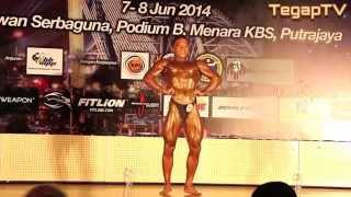 Mr Malaysia 2014 (Junior Below 70kg): Solo performance Warith, Privathee&Syahmi