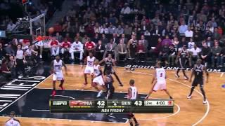Joe Johnson 32 points (22 in the 1st Q) vs Heat - Full Highlights (2014.01.10)