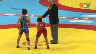 2011 Worlds Women's Freestyle 48kg - Jyldyz Eshimova (KAZ) vs. Clarissa Chun (USA)