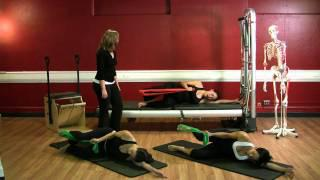 Upside-Down Pilates - Resistance Band - Lesson 47 - Part 1 Of 4 - HD