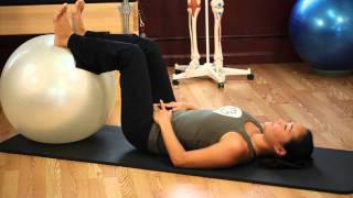 Upside-Down Pilates - Balance Ball - Lesson 52 - Part 1 Of 4 - HD