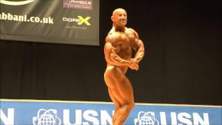 James Fleming (ENG), NABBA Worlds 2014 - Men 3 Winner