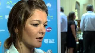 Agnieszka Radwanska at Apia International Sydney Player Party