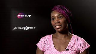 Venus Williams 2013 Toray PPO R16 Interview
