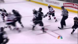 Adam Henrique goal. New Jersey Devils vs LA Kings Stanley Cup Game 6 6/11/12 NHL Hockey
