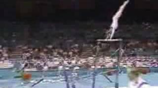 1996 Olympic Gymnastics Uneven Bars Event Finals EF 8 Routines