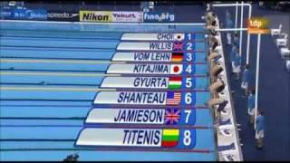 (29/07/11) Shanghai Swimming Men's 200m Breaststroke. 200 braza masculino