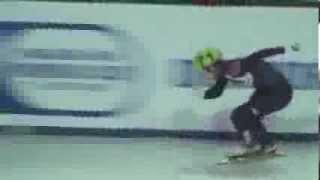 Short Track Speed Skating The Techniques Of VICTOR AHN,ВИКТОР АН Full And Half Speed Relay