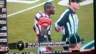 Top 10 T.O.&Ochocinco Moments