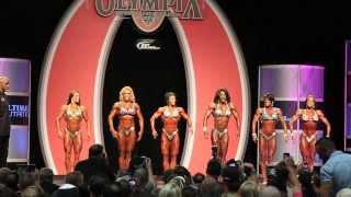 Dana Linn Bailey First Call Out At The Olympia 2013